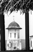 Eastern Orthodox Photos - View of an old church bell tower  by Emanuel Tanjala