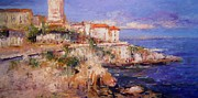 R W Goetting - View of Antibes