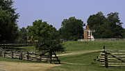 Slavery Framed Prints - View of Appomattox Courthouse 1 Framed Print by Teresa Mucha