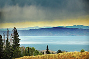 Garden Scene Framed Prints - View Of Bear Lake Framed Print by Utah-based Photographer Ryan Houston