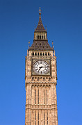 British Culture Prints - View Of Big Ben At The British Capital Print by George Doyle