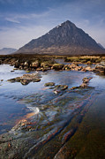 Buachaille Etive Mor Photos - View Of Buachaille Etive Mor, Scottish Highlands by Andrew Sproule