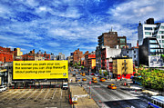 Sky Line Originals - View of Chelsea from the High Line Park by Randy Aveille