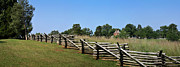 Confederate Monument Photo Prints - View of Clover Hill Tavern Appomattox Court House Virginia Print by Teresa Mucha