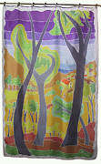 View Tapestries - Textiles - View of Collioure by Rollin Kocsis