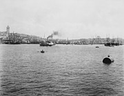 Sea View Art - View of Galata and Istanbul - between 1880-1893 by International  Images