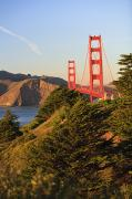 View Of Golden Gate Bridge San Print by Stuart Westmorland