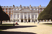 Hampton Court Prints - View of Hampton Court Palace London England Print by House Of Joseph Photography