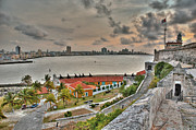 Historic Site Prints - View of Havana from Morro Castle. Cuba Print by Juan Carlos Ferro Duque