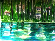 Angela Puglisi - View of Lake Como