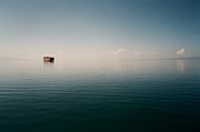 Water Photography Prints - View Of Lake Qinghai Print by Dsa