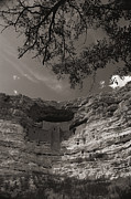 Sinagua Prints - View Of Montezuma Castle Print by Todd Gipstein