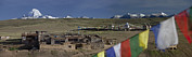 Tibetan Buddhism Framed Prints - View Of Mount Kailash From Chiu Framed Print by Phil Borges