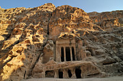 Civilization Photos - View Of Pequeña Petra by Molina