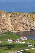 Road Travel Prints - View Of Percé  And The Rock Print by Maremagnum