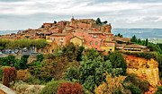 Roussillon Framed Prints - View Of Roussillon Framed Print by Phil Haber Photography