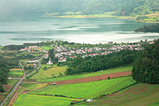 Sete Photos - View of Sete Cidades by Gaspar Avila
