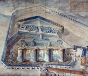 View Of The Bastille Print by Granger