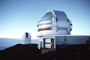 Telescope Dome Framed Prints - View Of The Gemini Telescope Dome On Mauna Kea Framed Print by Magrath Photography