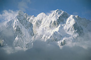 Snow Scenes Prints - View Of The Karakoram Ranges Print by Jimmy Chin