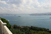 Topkapi Prints - View Of The Marmara Sea - Istanbul Print by Christiane Schulze