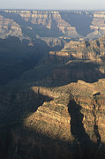 Grand Canyon Scenes Prints - View Of The North Rim Of The Grand Print by Bobby Model