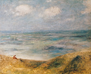 Boats On Water Art - View of the Sea Guernsey by Pierre Auguste Renoir