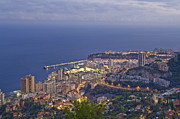 Monaco Art - View Of The Town by Maremagnum