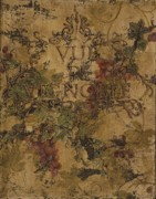 Vines Mixed Media Posters - View of the Vineyard Poster by Chris Brandley