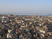 City View Photo Prints - View of Venice Print by Bernard Jaubert