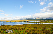 Rannoch Photo Prints - View over Loch Ba Print by Chris Thaxter