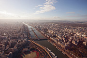 Development Of Life Photos - View Over Paris From Eiffel Tower France Paris by Nico De Pasquale Photography