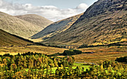 Rannoch Photo Prints - View over Rannoch Moor 2 Print by Chris Thaxter