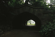 Tunnels Prints - View Through Endale Arch Towards Print by Melissa Farlow