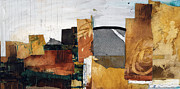 Landscape Mixed Media Prints - Views of the City V Print by Michel  Keck