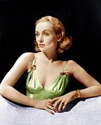 Gold Bracelet Prints - Vigil In The Night, Carole Lombard, 1940 Print by Everett