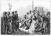 Law Enforcement Prints - Vigilante Court, 1874 Print by Granger