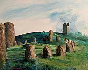 Viking Graveyard Print by Richard Beauregard