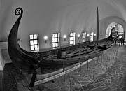 A A Framed Prints - Vikingship Framed Print by A A