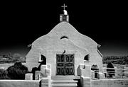 Village Adobe Church I Print by Steven Ainsworth
