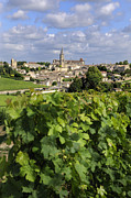 Bernard Jaubert - Village and vineyard of Saint-Emilion. Gironde. France
