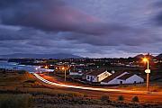 Gaspar Avila - Village at twilight