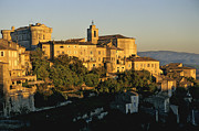 Churches Photos - Village de Gordes. Vaucluse. France. Europe by Bernard Jaubert