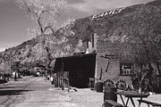 Touristy Prints - Village Entrance in Calico Ghost Town California Print by Susanne Van Hulst
