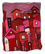 Wayne Potrafka - Village in Pink