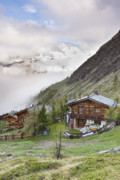 Matterhorn Prints - Village in Switzerland Print by Andre Goncalves