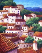 Casares Posters - Village of Casares Poster by Candy Mayer