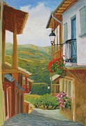 Liliane Fournier - Village of the Sierra...