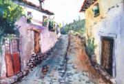 George Siaba - Village street