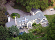 Chestnut Hill Wyndmoor Blue Bell Aerial Photographs - Villanova Main Line Aerial Photograph 2763 by Duncan Pearson